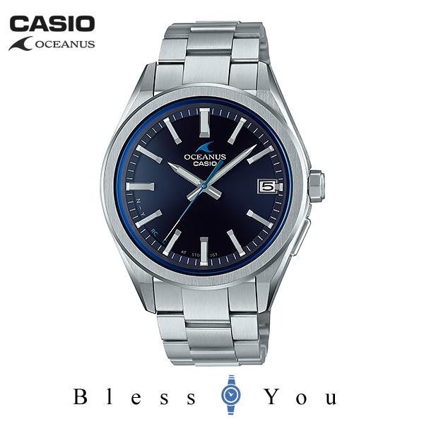 ポイント10倍 CASIO OCEANUS カシオ ソーラー電波 腕時計 メンズ オシアナス 2019年4月新作 OCW-T200S-1AJF 60,0