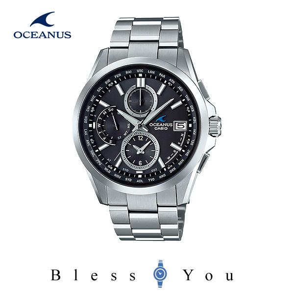 CASIO OCEANUS カシオ ソーラー電波 腕時計 メンズ オシアナス OCW-T2600-1A2JF 100,0