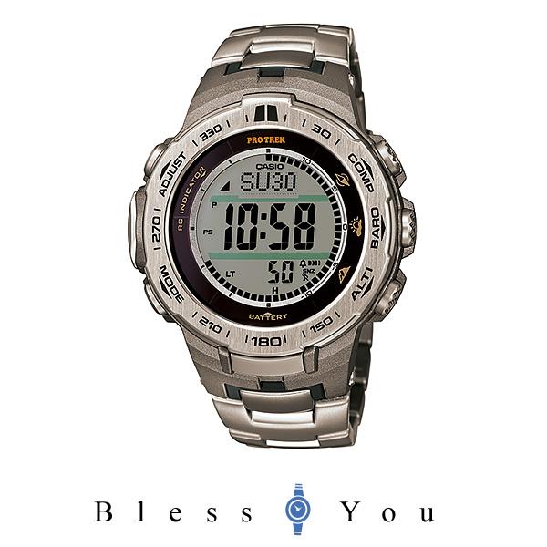 カシオ ソーラー電波 腕時計 メンズ プロトレック PRW-3100T-7JF 54,0