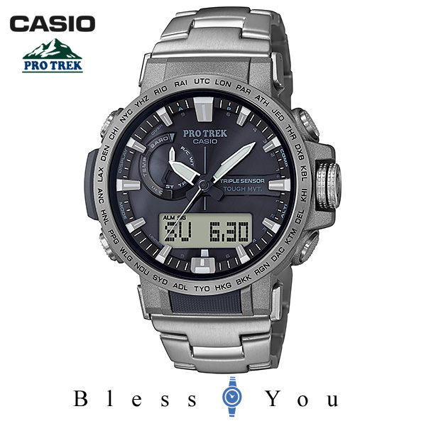 CASIO PRO TREK カシオ 腕時計 メンズ プロトレック PRW-60T-7AJF 64,0 SSS