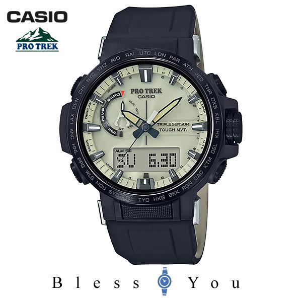 CASIO PRO TREK カシオ 電波ソーラー 腕時計 メンズ プロトレック 2018年11月 PRW-60YGE-1AJR 59,0 あす楽