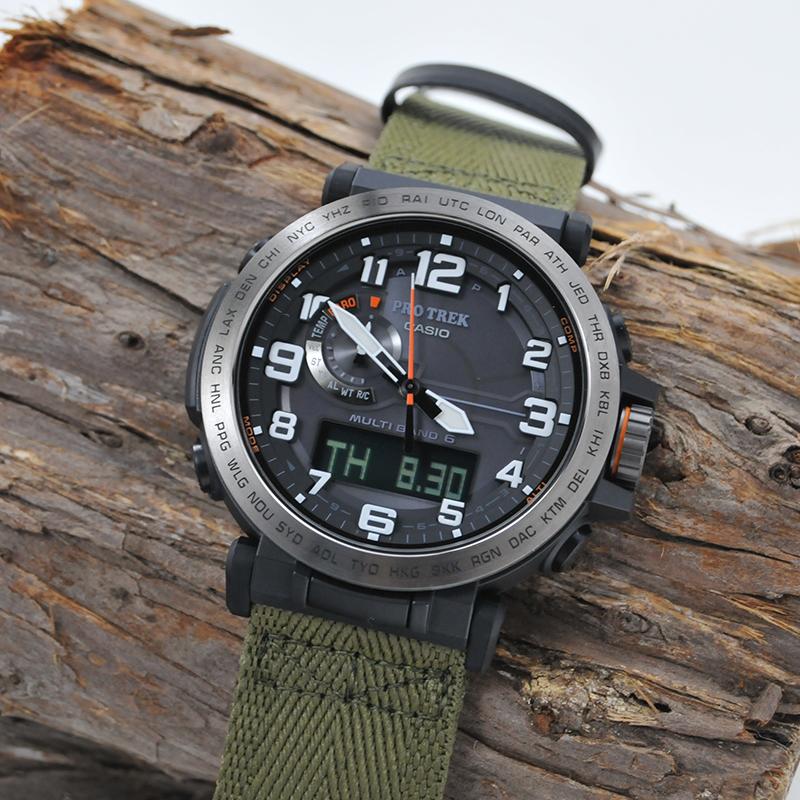 ポイント10倍 カシオ プロトレック ソーラー電波 腕時計 メンズ プロトレック CASIO PROTREK 2018年3月 PRW-6600YB-3JF 52,0