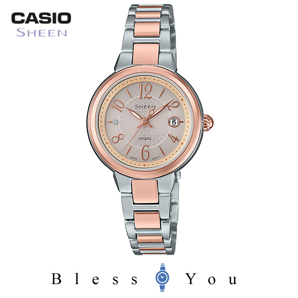 ポイント10倍 カシオ シーン 腕時計 タフソーラ― SHS-4503SPG-9AJF 28,0