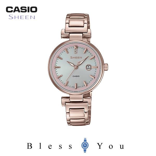 CASIO SHEEN カシオ ソーラー 腕時計 レディース シーン SHS-4524CG-4AJF 32,0