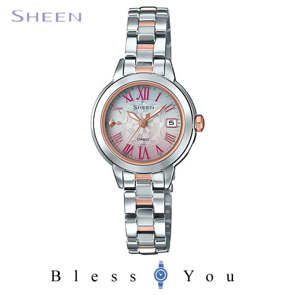 CASIO SHEEN カシオ ソーラー電波 腕時計 レディース シーン SHW-5000DSG-4AJF 39,0