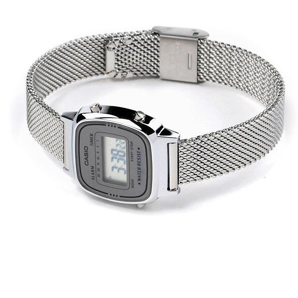 CASIO STANDARD カシオ 腕時計 レディース スタンダード ネット限定モデル LA670WEM-7JF ファスト ファッション ウォッチ チプカシ シルバー