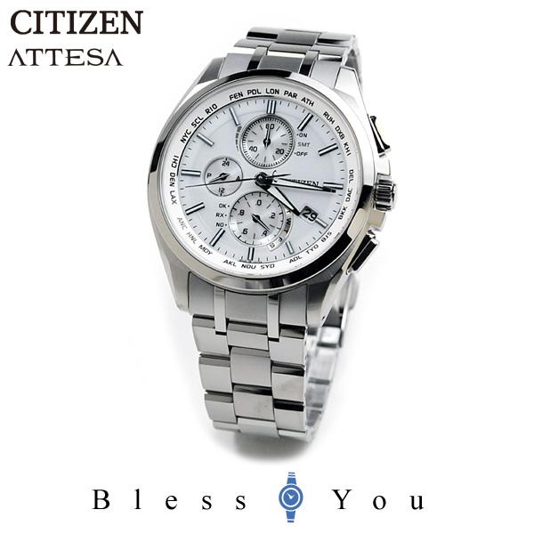 ポイント10倍 シチズン アテッサ 腕時計 AT8040-57A 100,0 [mp]エコ・ドライブ電波時計