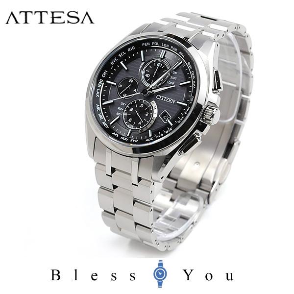シチズン アテッサ 腕時計 AT8040-57E 100,0 [mp] エコ・ドライブ電波時計 ATTESA エコ・ドライブ 光発電 電波時計