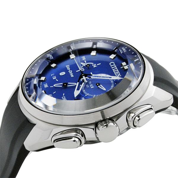 メンズ 腕時計 シチズン スマートウォッチ エコドライブ Bluetooth アナログ×スマート BZ1020-22L 75,0