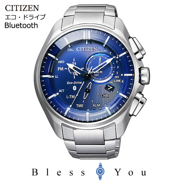 CITIZEN Eco Drive Bluetooth ソーラー メンズ 腕時計 シチズン エコドライブ Bluetooth BZ1040-50L 100,0