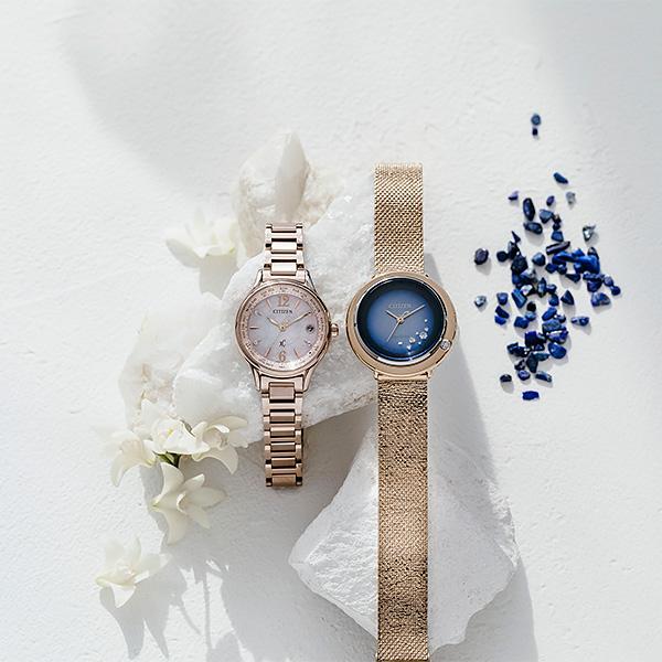 CITIZEN L シチズン ソーラー 腕時計 レディース エル 2019年4月 限定 チャン・ルー 冨永愛 EM0648-81N 59,0
