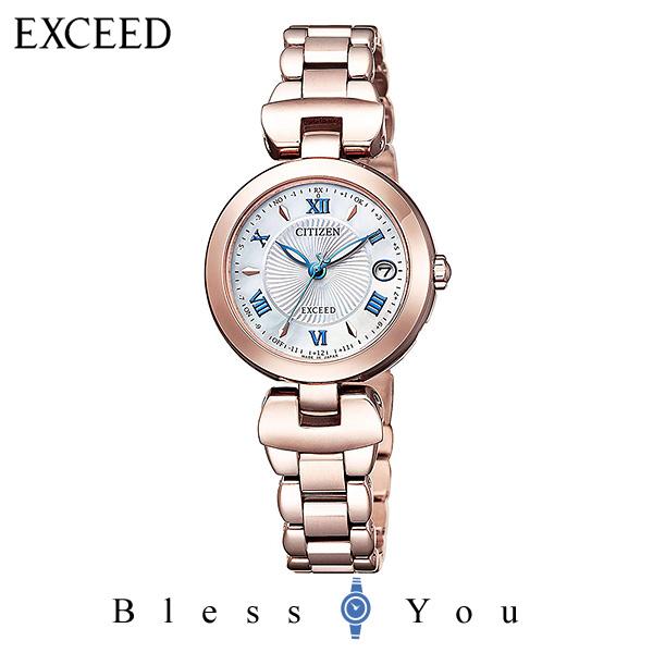 CITIZEN EXCEED シチズン ソーラー電波 腕時計 レディース エクシード ES9424-57A 130,0