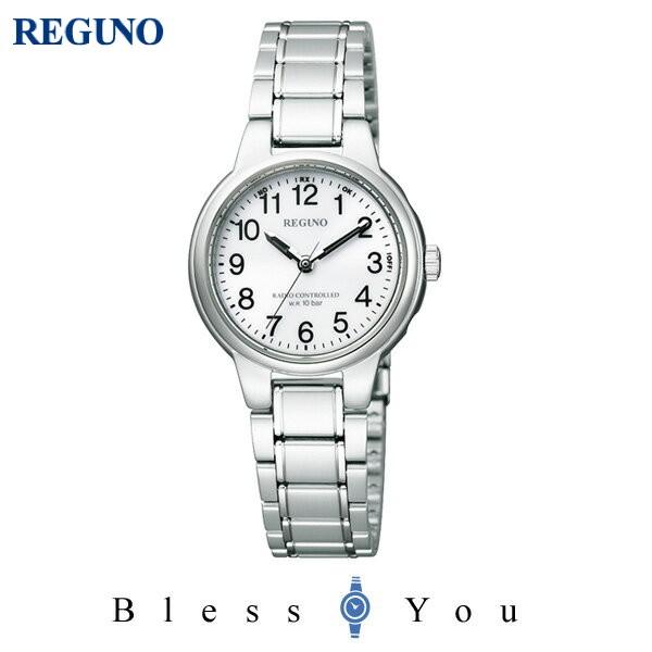 シチズン レグノ レディース 腕時計 ソーラーテック 電波時計 KL9-119-95 21,0