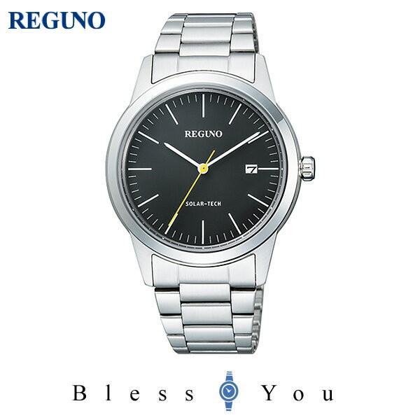 ポイント10倍 シチズン レグノ メンズ 腕時計 ソーラーテック KM3-116-53 15,0