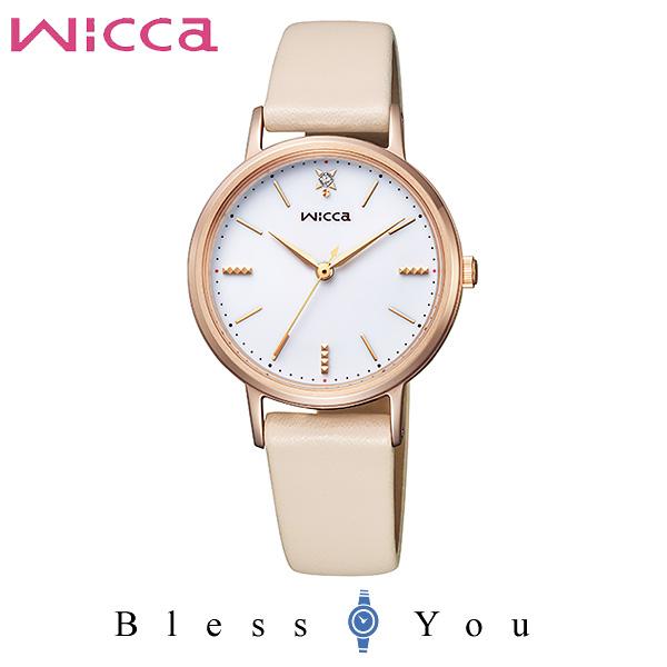 ポイント10倍 CITIZEN wicca シチズン ソーラー 腕時計 レディース ウィッカ 2019年4月 KP5-166-10 19,0
