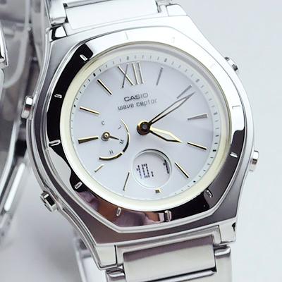 ペアウォッチ カシオ ウェブセプター  ソーラー電波時計(腕時計) bk&whg WVA-M650D-1AJF-LWA-M160D-7A2JF 56,0