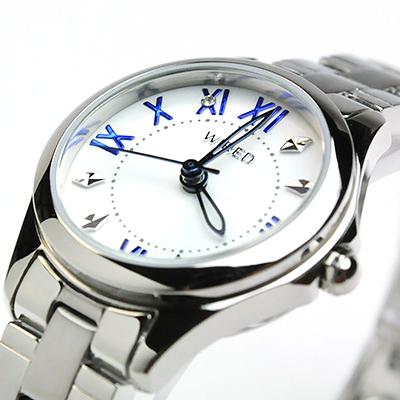 セイコー ワイアード ワイアードエフ ペアウォッチ white SEIKO WIRED&WIREDf AGAT406-AGEK424  32,0   [腕時計 ペア カップル ブランド ウォッチ ペアスタイル]