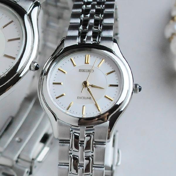 [お取り寄せ]セイコー ドルチェ&エクセリーヌ 薄型ペアウォッチ SEIKO SACL009-SWDL099 110,0 【ペアウォッチ 腕時計 ペア ウォッチ ブランド カップル】