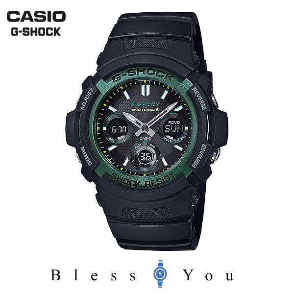 ポイント10倍 CASIO G-SHOCK カシオ ソーラー電波 腕時計 メンズ Gショック 2019年2月新作 ファイアーパッケージ '19 AWG-M100SF-1A3JR 25,0