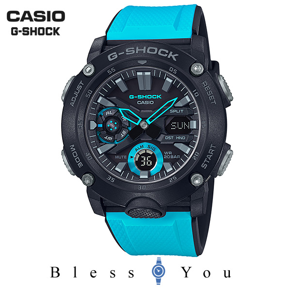 G-SHOCK Gショック 腕時計 メンズ CASIO カシオ 2019年3月新作 GA-2000-1A2JF 16,0