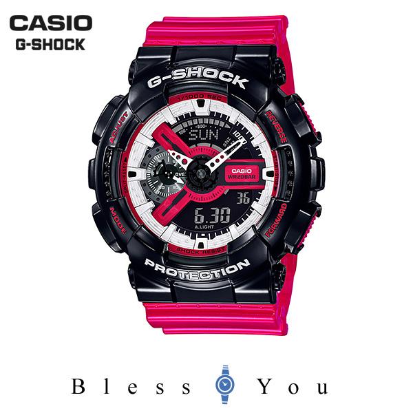 ポイント10倍 CASIO G-SHOCK カシオ 腕時計 メンズ Gショック 2019年5月新作 GA-110RB-1AJF 16,0