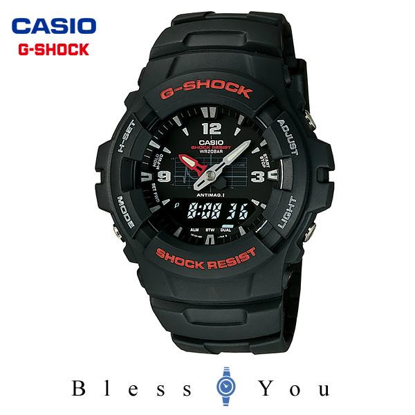 ジーショック g-shock g-ショック カシオ 腕時計 G-100-1BMJF メンズウォッチ 新品お取寄せ品