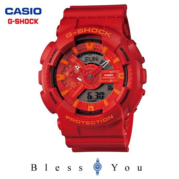 ポイント10倍 ジーショック g-shock g-ショック カシオ 腕時計 GA-110AC-4AJF メンズウォッチ 新品お取寄せ品