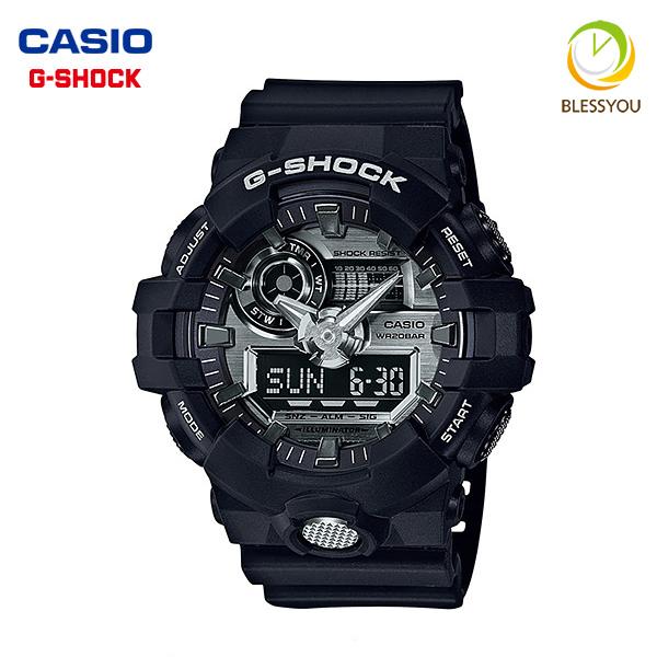 ジーショック Gショック G-SHOCK GA-710-1AJF 16,5 GARISH COLOR ブラック×シルバー ジーショック メンズウォッチ