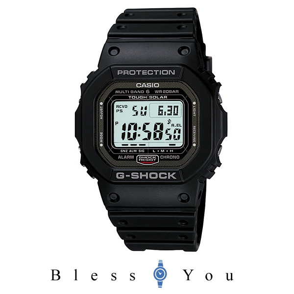 CASIO G-SHOCK GW-5000-1JF MULTI BAND 6 JAPAN MADE G 쇼크 손목시계 솔 러 전파 시계 일본 만들어진 MADE IN JAPAN GW-5000-1JF 선물