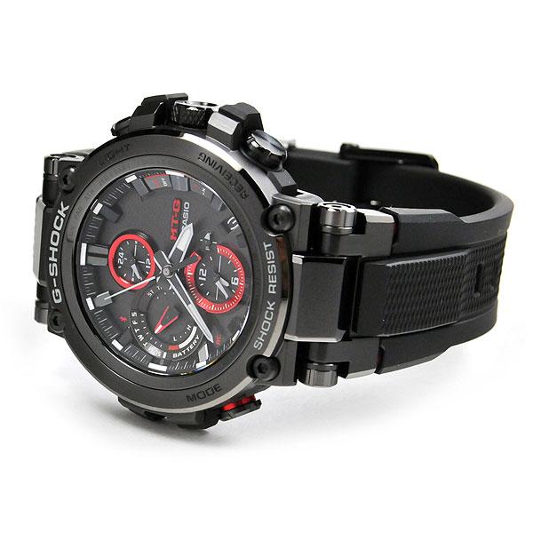 CASIO G-SHOCK カシオ ソーラー電波 腕時計 メンズ Gショック 2018年6月 MTG-B1000B-1AJF 100,0 Bluetooth通信機能でスマートフォンと連携 日本製 あす楽