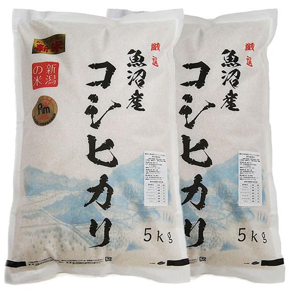 魚沼産コシヒカリ 新米 特別栽培米 一等米 10kg (5キロ×2袋=10キロ) 新潟県 ギフト