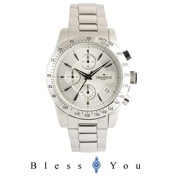 グランドール プラス クロノグラフ 腕時計 GRANDEUR PLUS GRP003W1 メンズ mp20