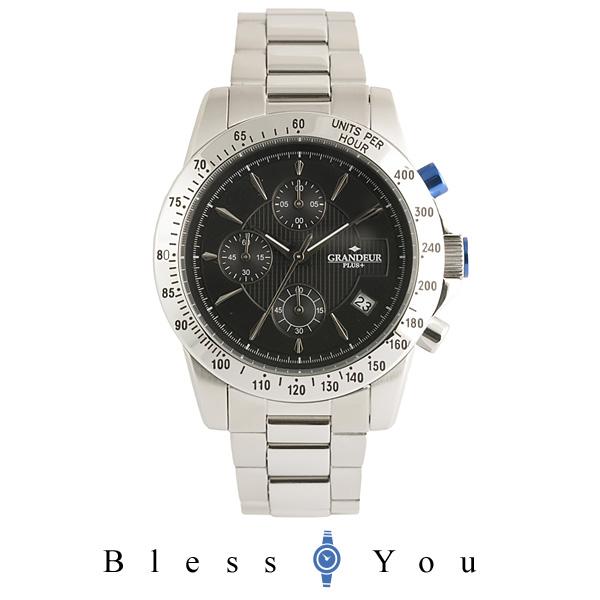 グランドール プラス クロノグラフ 腕時計 GRANDEUR PLUS GRP003W3 メンズ mp20