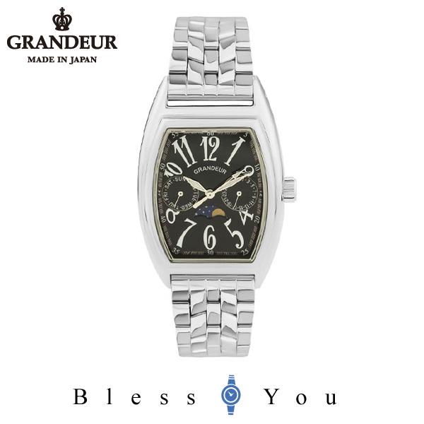 グランドール メンズ 腕時計 日本製 GRANDEUR JGR002W3