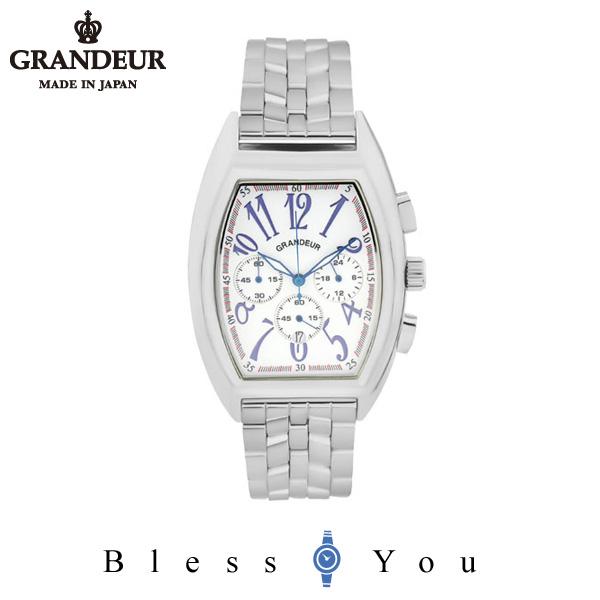 グランドール メンズ 腕時計 クロノグラフ 日本製 GRANDEUR JGR003W1