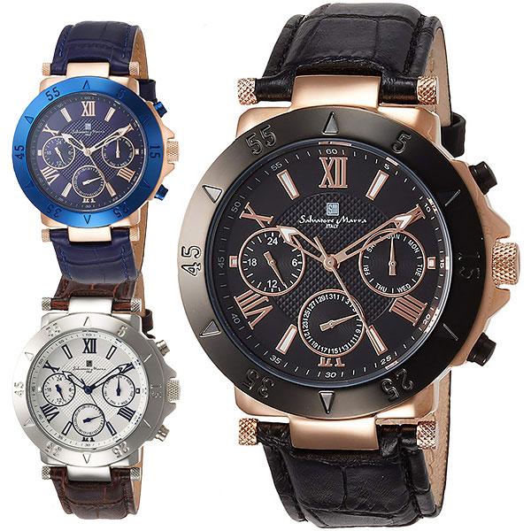 サルバトーレマーラ 腕時計 メンズ SALVATORE MARRA SM14118S 32,0