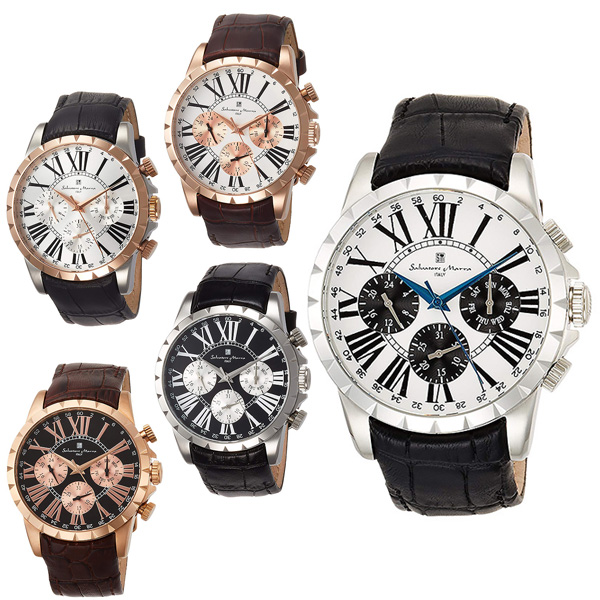サルバトーレマーラ 腕時計 メンズ SALVATORE MARRA SM15103 28,0