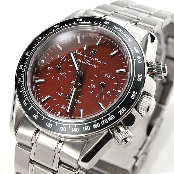 sm15111-ssbrサルバトーレマーラ メンズ クロノグラフ SALVATORE MARRA 腕時計 SM15111BR 196 SSS