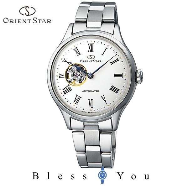 ポイント10倍 ORIENT STAR オリエント 機械式 腕時計 レディース オリエントスター クラシック セミスケルトン RK-ND0002S 50,0 自動巻き