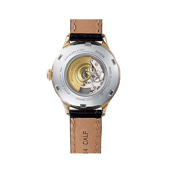 ORIENT STAR オリエント 機械式 腕時計 レディース オリエントスター クラシック セミスケルトン RK-ND0004S 50,0 自動巻き レザーバンド