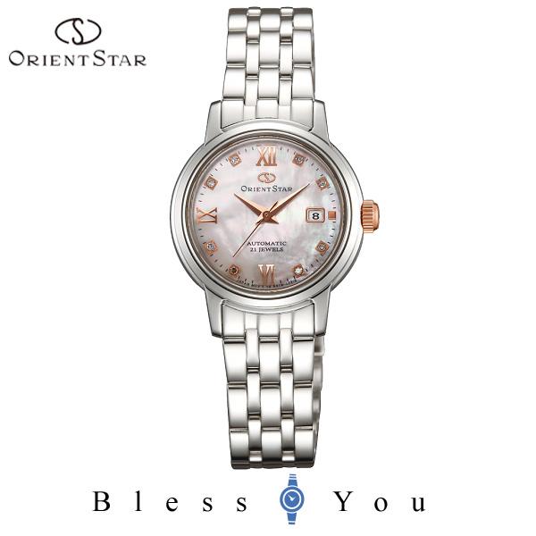 ORIENT STAR オリエント 機械式 腕時計 レディース オリエントスター クラシック セミスケルトン WZ0431NR 54,0 自動巻き