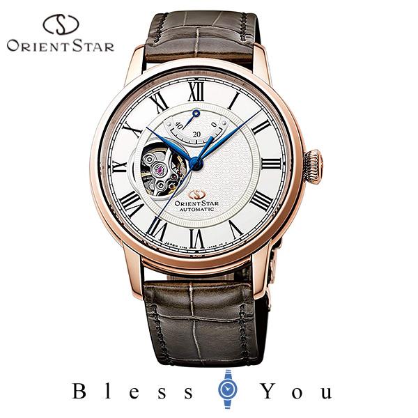 ORIENT STAR オリエントスター 機械式 腕時計 メンズ クラシック セミスケルトン RK-HH0003S 140,0