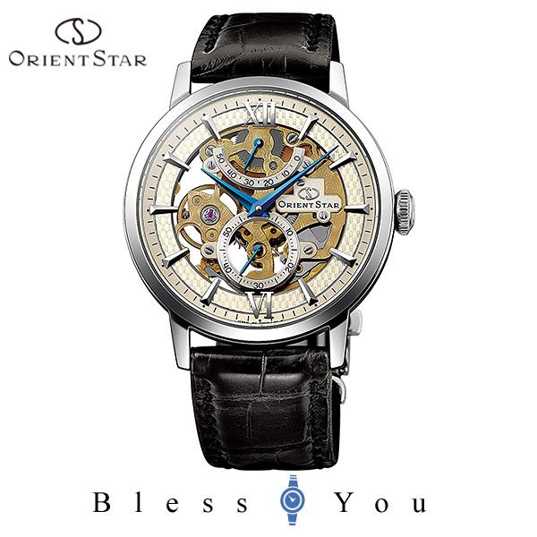 ポイント10倍 ORIENT STAR オリエントスター 機械式 腕時計 メンズ クラシック スケルトン WZ0041DX 240,0