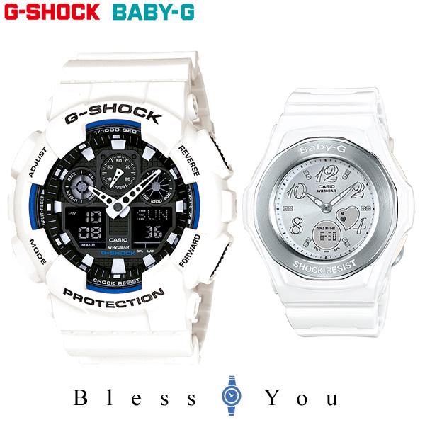 ペアウォッチ gショック gショック G-SHOCKペア GA-100B-7AJF-BGA-100-7B 28,5 白 カップル ジーショック ペア腕時計 ペア ブランド カップル ウォッチ ブランド ギフト, 鞍手町:a9303e13 --- cooleycoastrun.com
