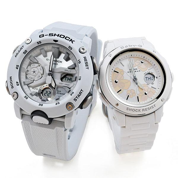 ペアウォッチ gショック 正規品 送料無料 ラッピング無料 正規メーカー保証付き Gショック ベビーG FL GA-2000S-7AJF-BGA-150FL-7AJF 5 Baby-G 新商品 28 G-shock 全国どこでも送料無料 腕時計 カップル ペア ブランド ウォッチ