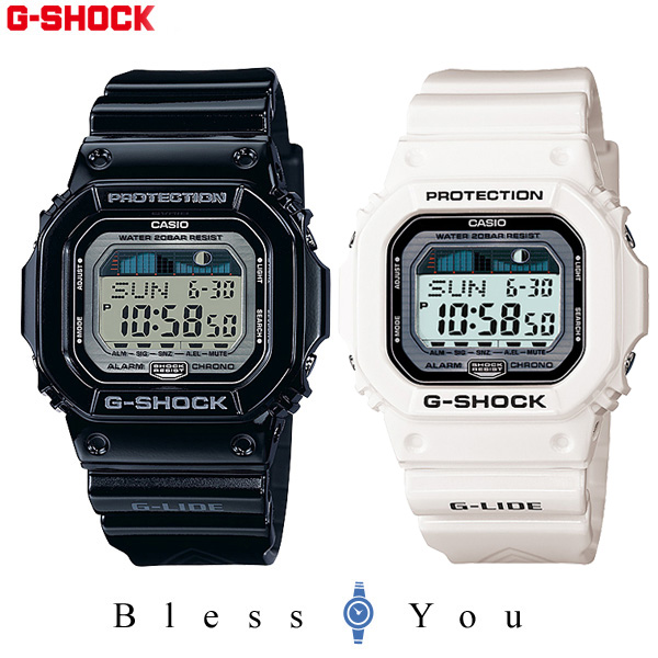 ペアウォッチ G-SHOCKペア デジタル タイドグラフ搭載 GLX-5600-1JF-GLX-5600-7JF 25,0 ジーショック 【腕時計 カップル ペア ブランド ウォッチ ギフト】