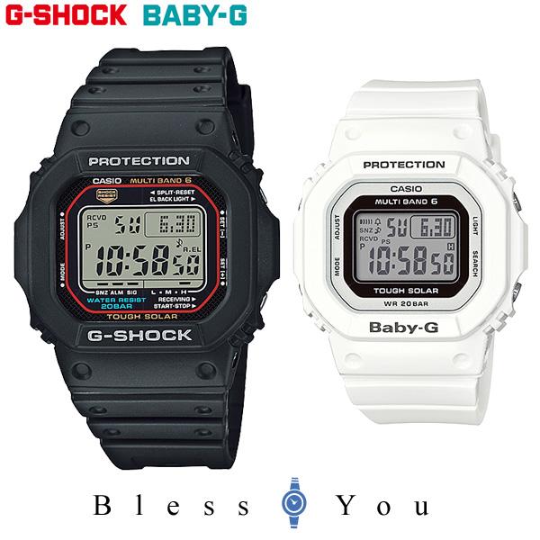 ペアウォッチ gショック g-shock 電波 ソーラー G-shock & Baby-G GW-M5610-1JF-BGD-5000-7JF 38,0