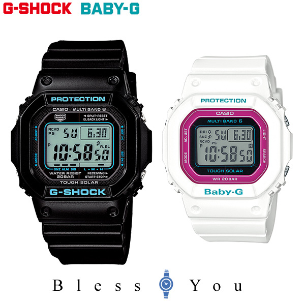 ペアウォッチ ジーショック GショックandベビーG デジタル g-shock 電波 ソーラー 【 腕時計 ペア カップル ブランド ウォッチ】 GW-M5610BA-1JF-BGD-5000-7CJF 38,0