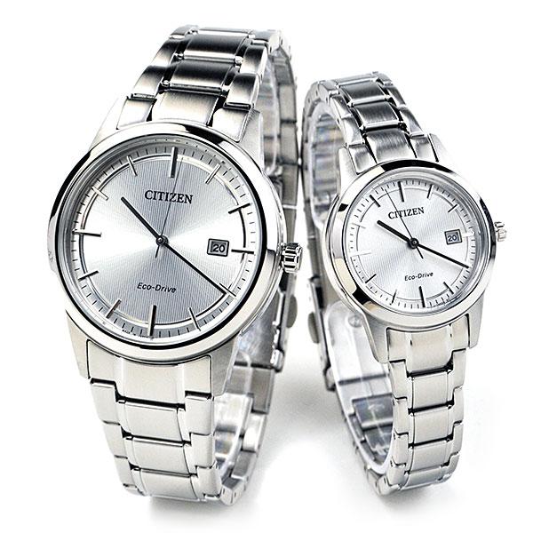 シチズン エコドライブ ペアウォッチ ソーラー メンズ&レディース腕時計 AW1231-66A-FE1081-67A 46,0 正規品 腕時計 カップル ペア ウォッチ ブランド ギフト ペア腕時計
