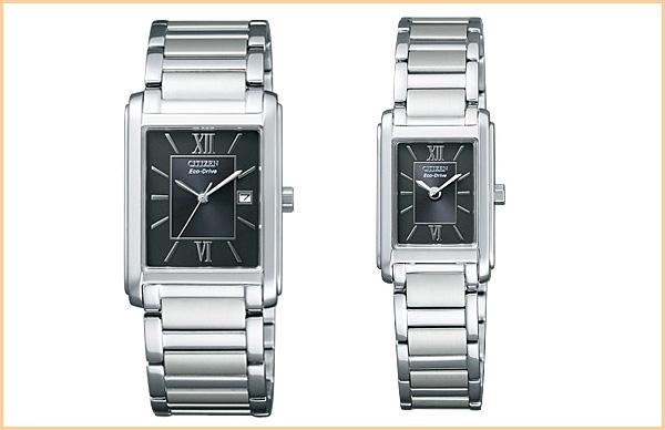Citizen palocci solar FRA59-2431-FRA36-2431 genuine gift pair watches couple watches brand